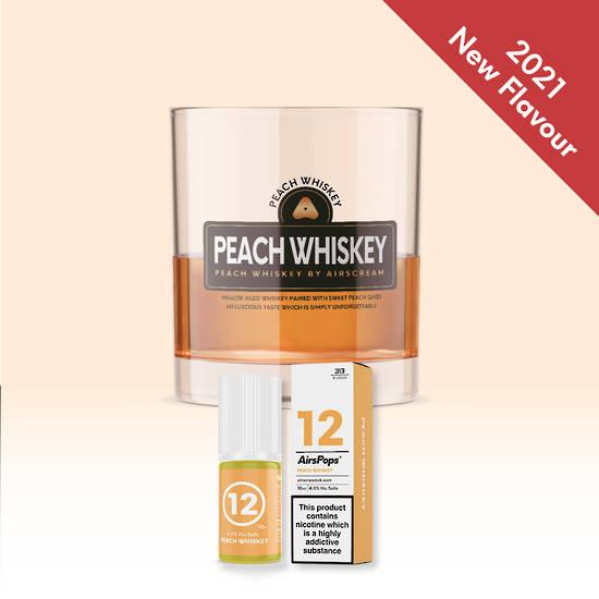 Peach Whiskey 10ml 4.0% - Airscream 313 E-LIQUID
