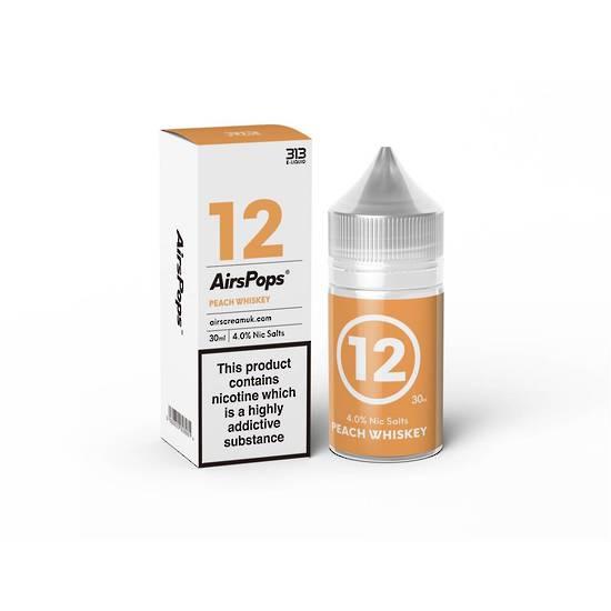 AIRSCREAM 313 E-LIQUID Peach Whiskey 30ml 4.0%