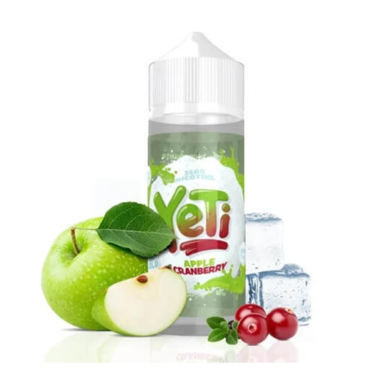 Apple Cranberry - Yeti 100ml E-juice