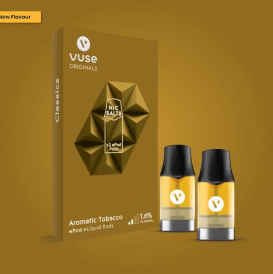 Vuse ePod Aromatic Tobacco e Liquid Pods