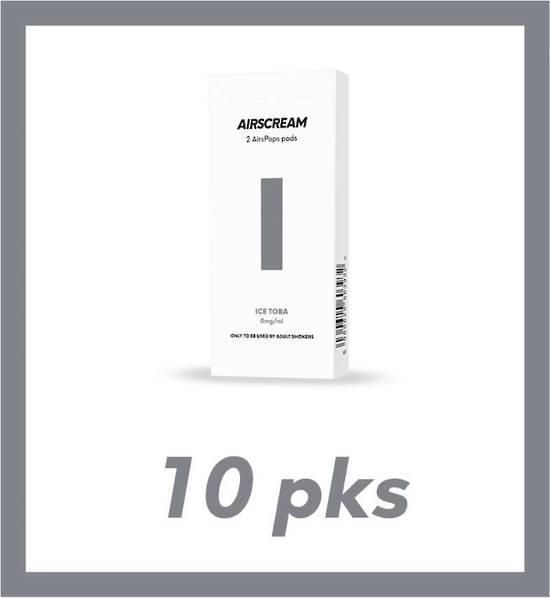 Airscream Ice Toba 1.2ml 2 pods 10 packs
