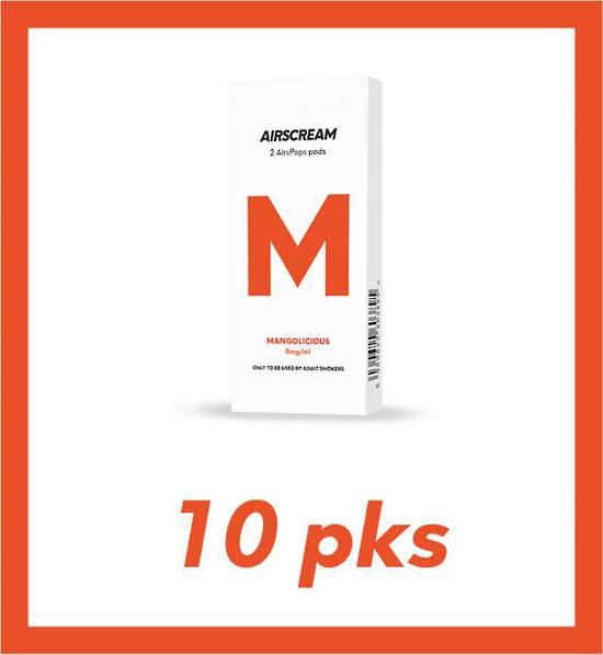 Airscream Mangolicious 2 pods 10 packs