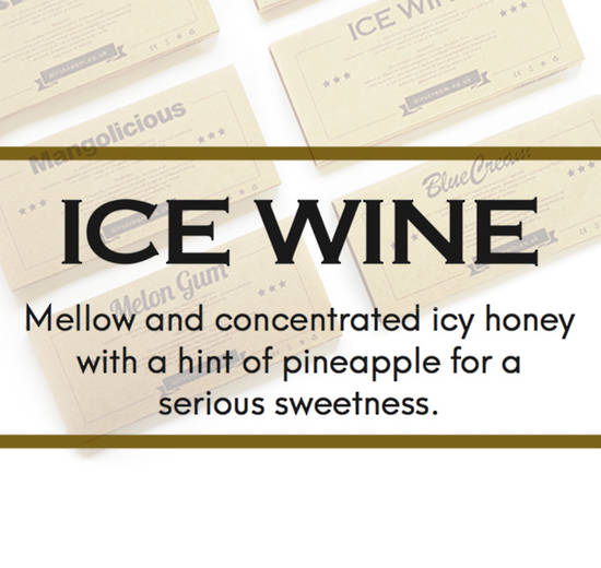 AIRSCREAM AIRSPOPS CARTRIDGE --- Ice Wine