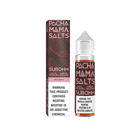 Apple Tobacco - Pachamama Subohm Salts 60ml