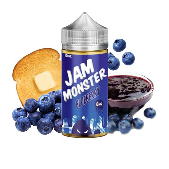 Blueberry - Jam Monster 100ml E-juice