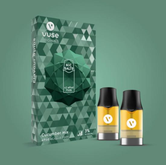 Vuse ePod Cucumber Mix eLiquid Pods