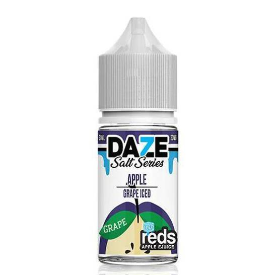 7DAZE - (NIC-SALT) Iced Apple Grape 30ml