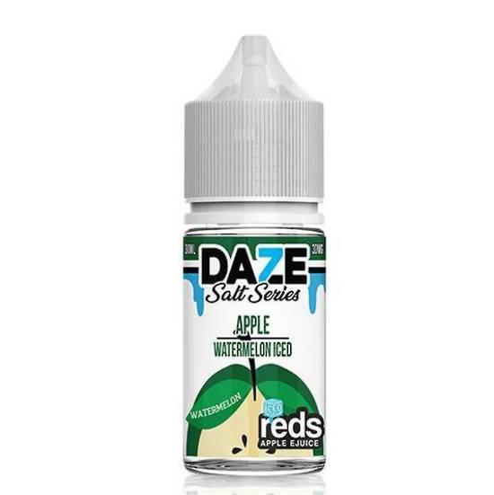 7DAZE - (NIC-SALT) Iced Apple Watermelon 30ml