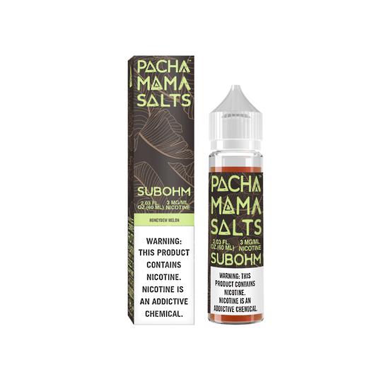 Charlie's Chalk Dust Pachamama Subohm Salts Honeydew Melon 60ml