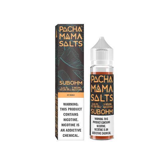 Charlie's Chalk Dust Pachamama Subohm Salts Icy Mango 60ml