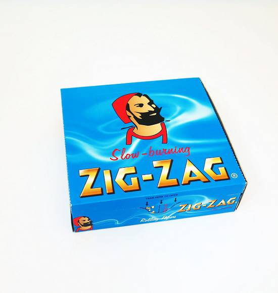 ZIG-ZAG Rolling Papers Blue Carton - 50 packs