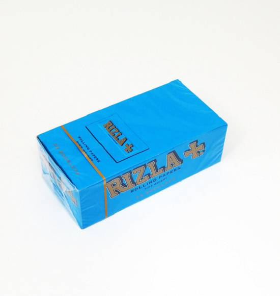 RIZLA Double Papers Blue A box - 25 packs
