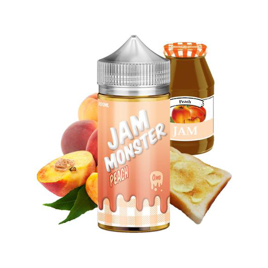Peach - Jam Monster ejuice 100ml