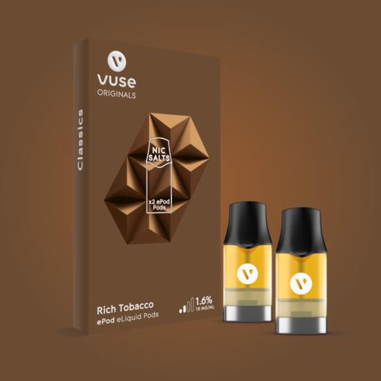 Vuse ePod Rich Tobacco e Liquid Pods
