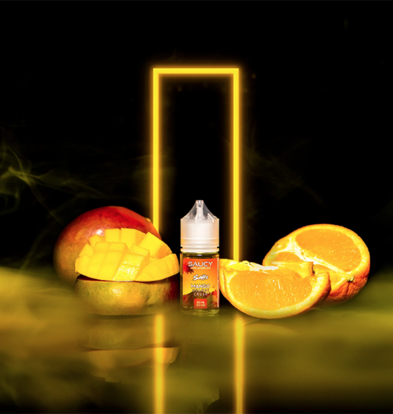 SAUCY SALTS – MANGO ORANGE CRUSH 30ML