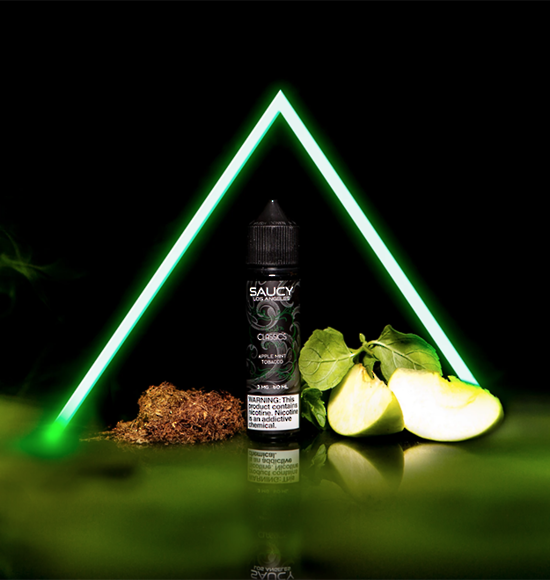 SAUCY CLASSICS - APPLE MINT 60ml
