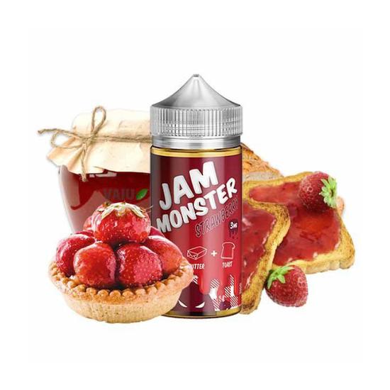 Strawberry -  Jam Monster 100ml Ejuice