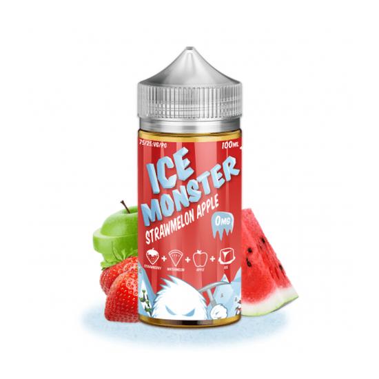 Strawmelon Apple - Ice Monster 100ml e-liquid