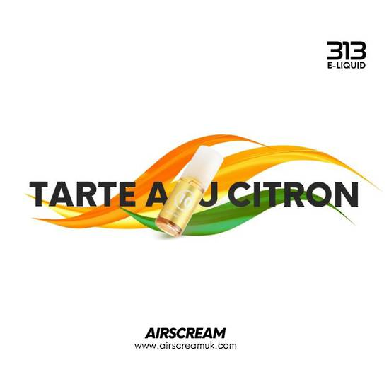 Airscream 313 E-LIQUID Tarte Au Citron 10ml 4.0%