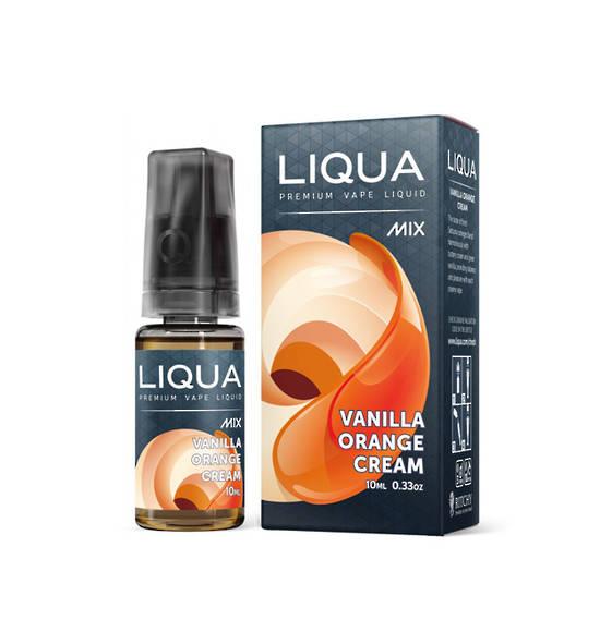 LIQUA MIX E-JUICE, Vanilla Orange Cream