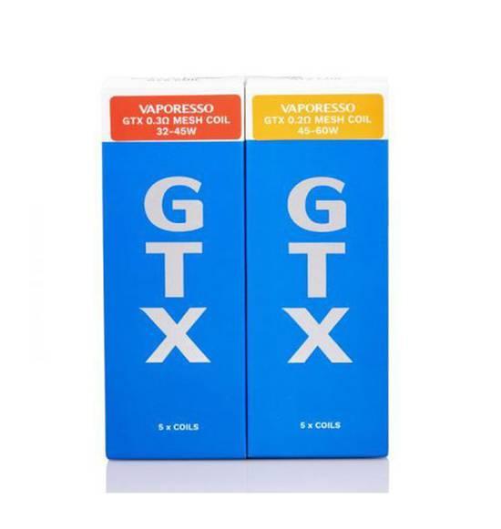 VAPORESSO GTX COILS 5p