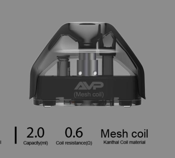 Aspire AVP Mesh Replacement POD (Mesh Coil 0.6ohm)