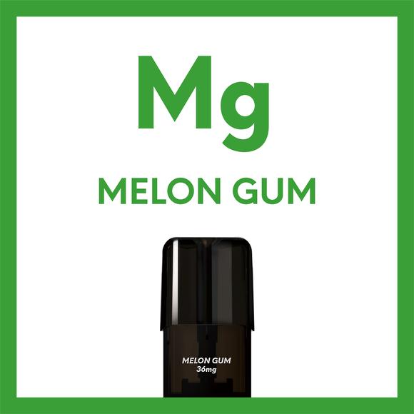 Airscream Cartridge Melon Gum 1.6ml 2pods pk