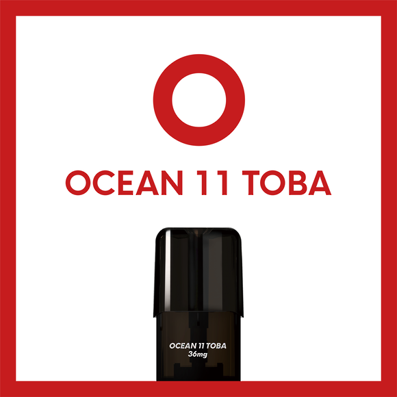 Airscream Cartridge Ocean 11 Toba 1.6ml 2pods pk