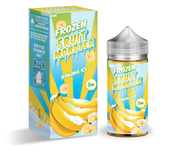Frozen Fruit Monster Banana 100ml