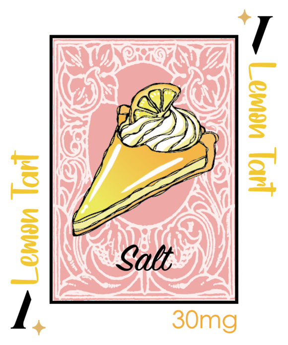 PlusV Salt -- Lemon Tart 30 ML 30mg/ml
