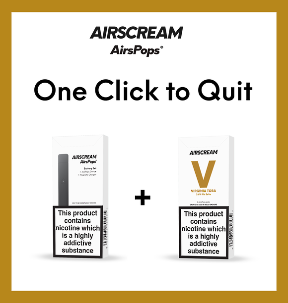 Airscream one click to quit - Virginia tobacco combo
