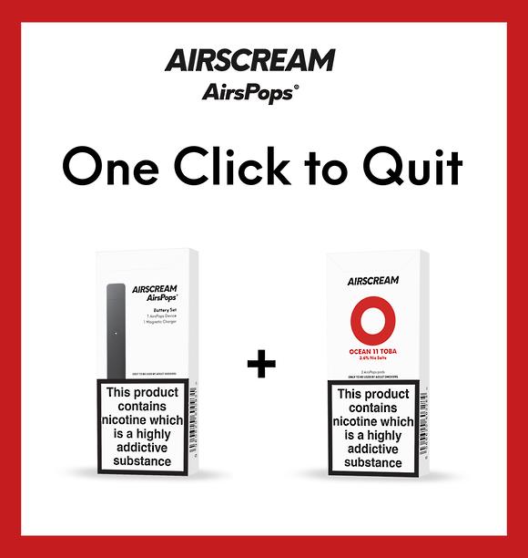 Airscream one click to quit - Ocean 11 toba combo