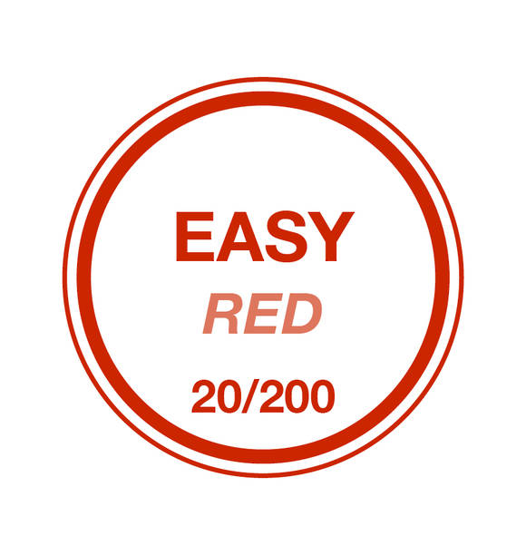 Easy Red 20/200