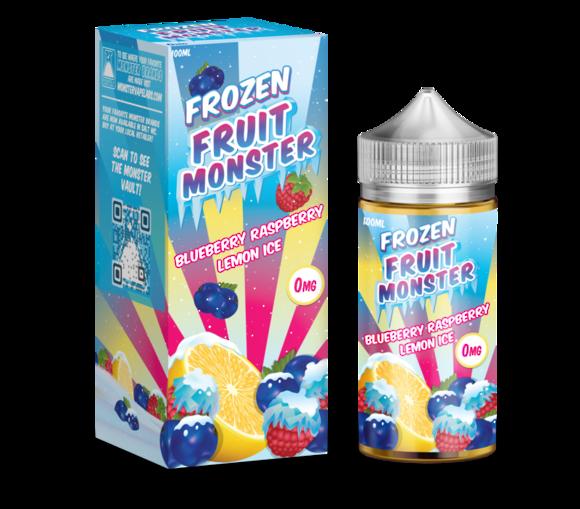 Frozen Fruit Monster Blueberry Raspberry Lemon Ice 100ml