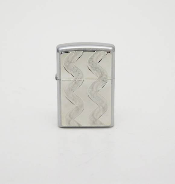 Helical Pattern Zippo Lighter Sale!
