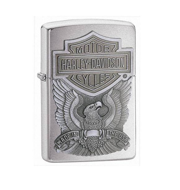 Harley-Davidson Silver Zippo Lighter Sale!