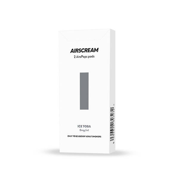 Airscream Cartridge Ice Toba 2pods pk