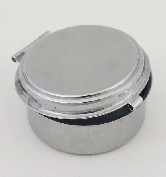 Mini Stainless Steel Ashtray (Circular)