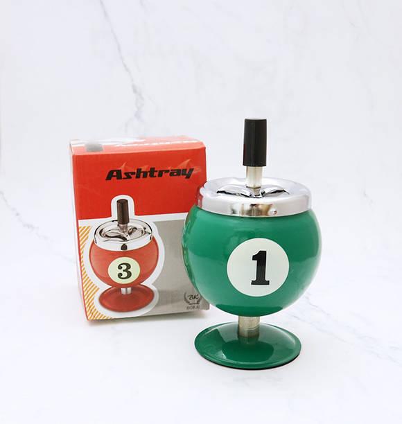 Pool Ball No.1 Ashtray