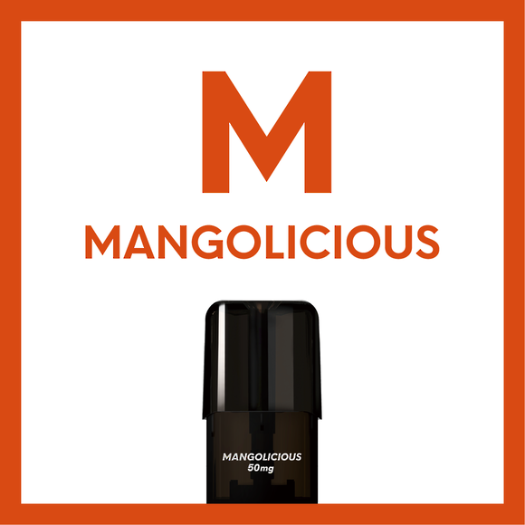 Airscream Cartridge Mangolicious 1.6ml 2pods pk