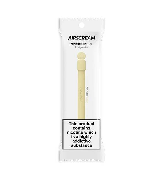 Airscream Lemon One-Use Disposable E-Cigarette 400puff