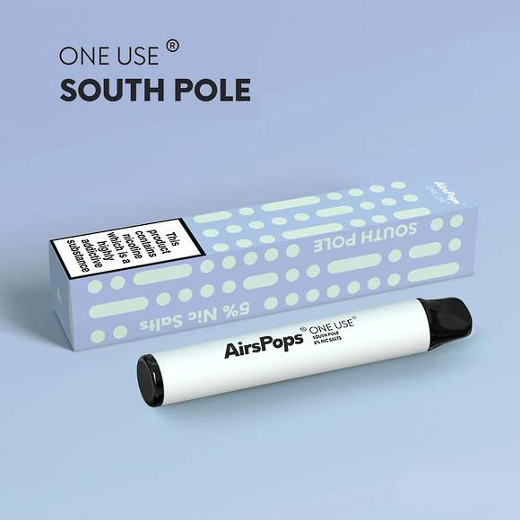 AIRSCREAM AirsPops One-Use (Disposable) South Pole 800puff