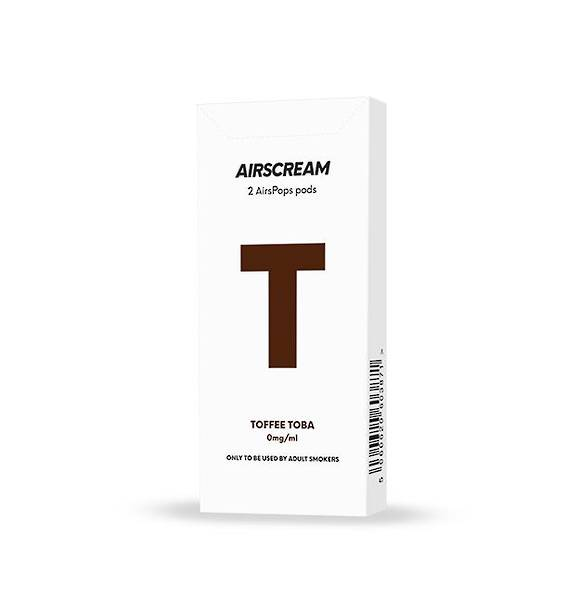Airscream Cartridge Toffee Toba 2pods pk