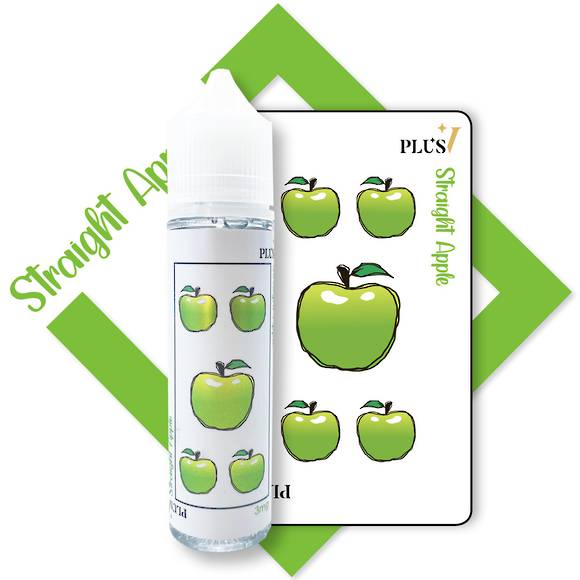 Plus V Straight Apple 60 ML