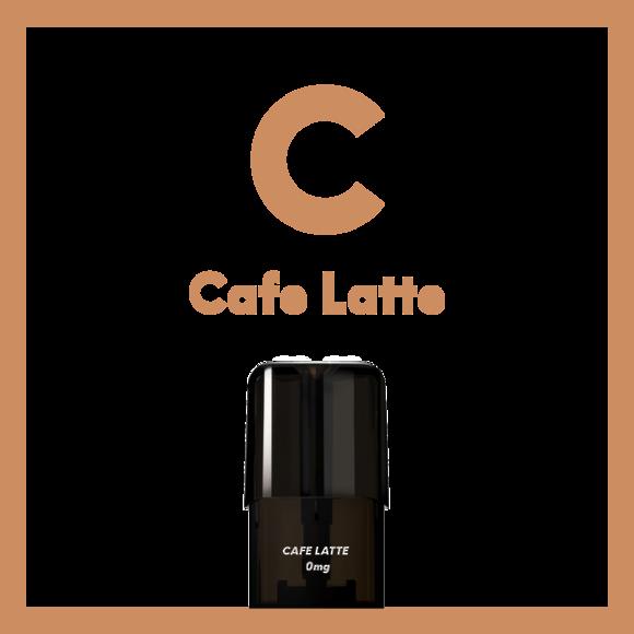 Cafe Latte - AIRSCREAM Cartridge 1.6ml 2 pods pk