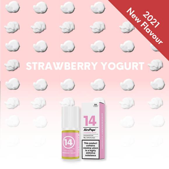 Strawberry Yogurt 10ml 4.0% - Airscream 313 E-LIQUID
