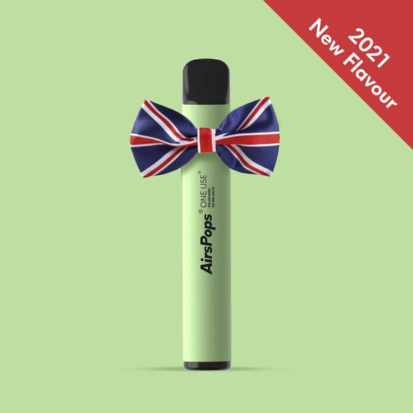 AIRSCREAM  AirsPops One-Use (Disposable) Polar Mint 800puff