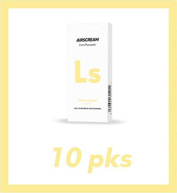 Airscream Lemon Sangria 2 pods 10 packs