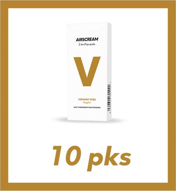 Airscream Virginia Toba 2 pods 10 packs