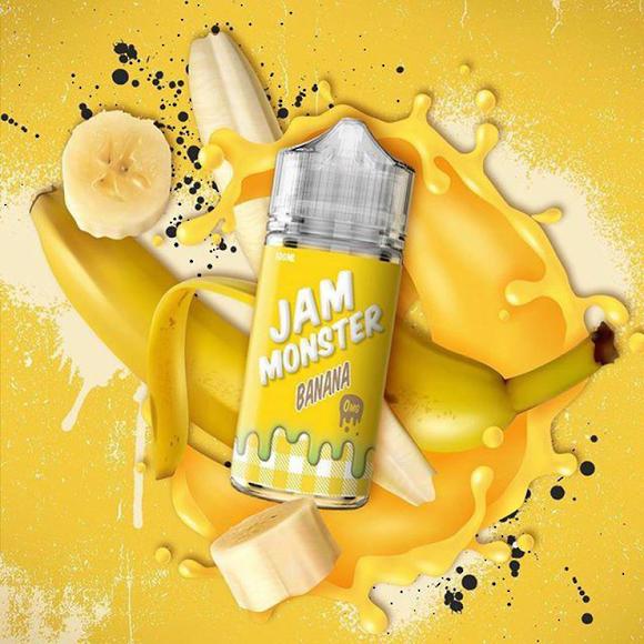 Banana - Jam Monster E-juice 100ml